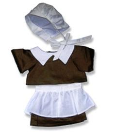 Thanksgiving Pilgrim Girl Costume