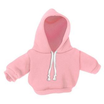 8-10 inch Pink Hoodie