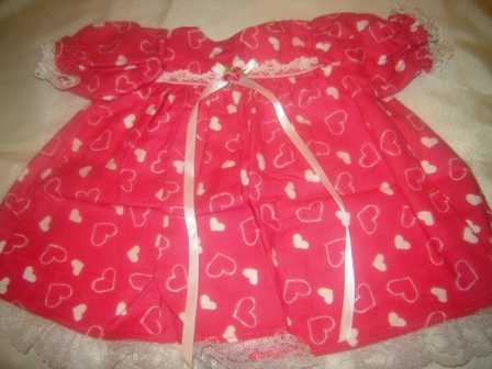 Pink Flannel Nightgown