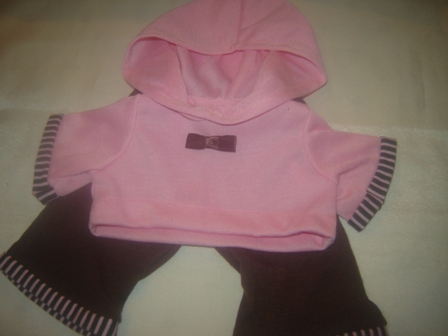 Pink Hoodie and Pants Outfit