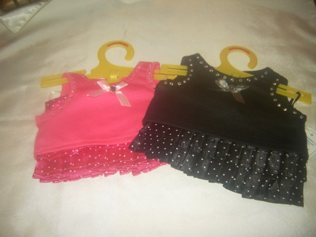 Black or Pink Skirt Set