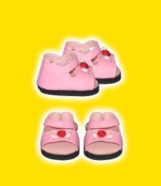 Pink Rosebud Sandals