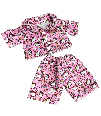 Unicorn Pajamas for 8-10 inch bears