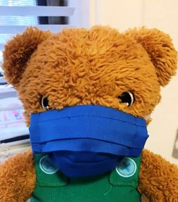 Solid Color Face Masks for Teddy Bears