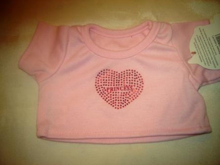 Pink Princess Heart Shirt