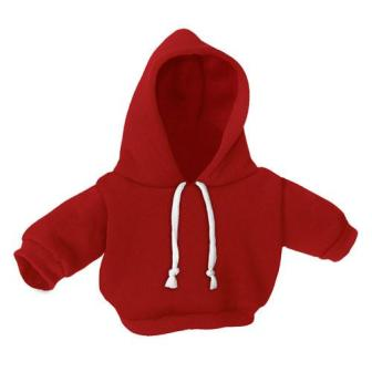 8-10 inch Red Hoodie