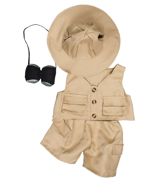 8 to 10 inch Safari Outfit