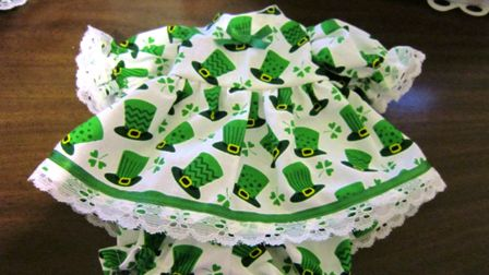 Green Shamrock Hats Dress