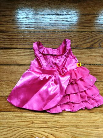 Side Ruffle Fancy Dress