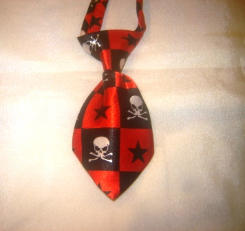 Skull and Star Tie