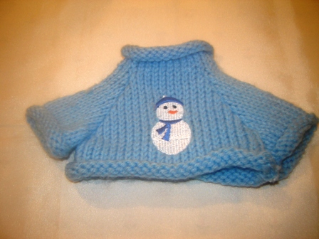 Small Snowman Sweater
