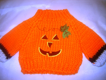 Smiling Pumpkin Sweater