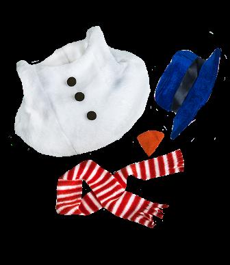 Snowman 3 piece Costume