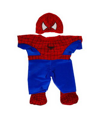 Spiderman Costume for 8 to 10 inch bears