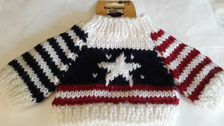 Stars and Stripes Bear Sweater