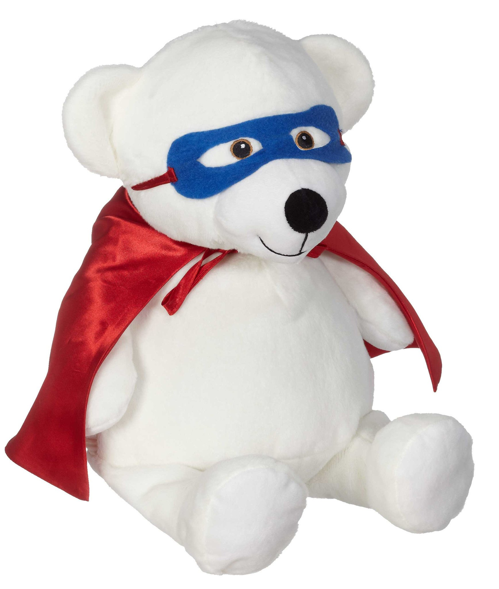 Red Super Hero Cape and Mask