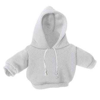 10-12 inch White Hoodie