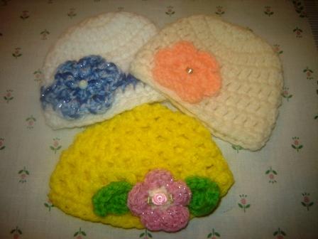 Fancy Crocheted Hats
