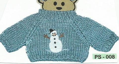 Winter Snowman Sweater